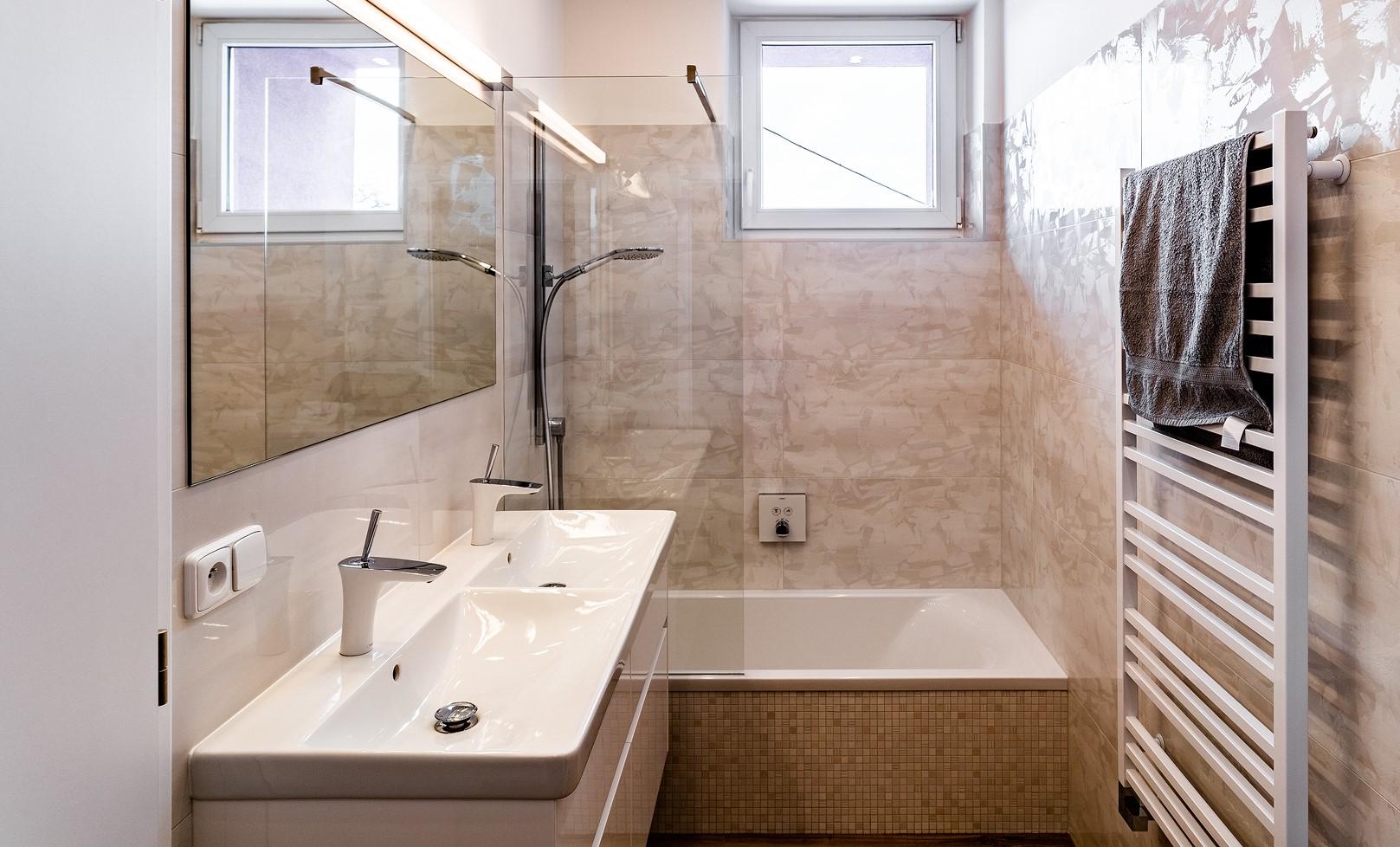 Malá koupelna v bytě
