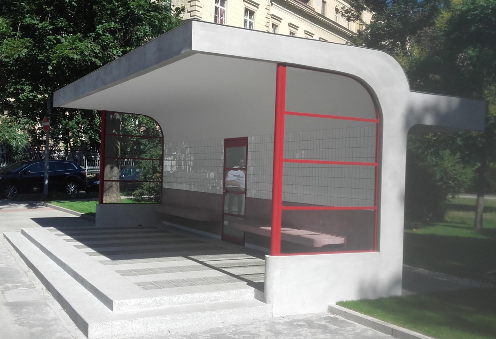Prvorepubliková tramvajová zastávka