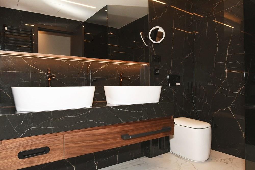 Koupelny v hotelu President 1