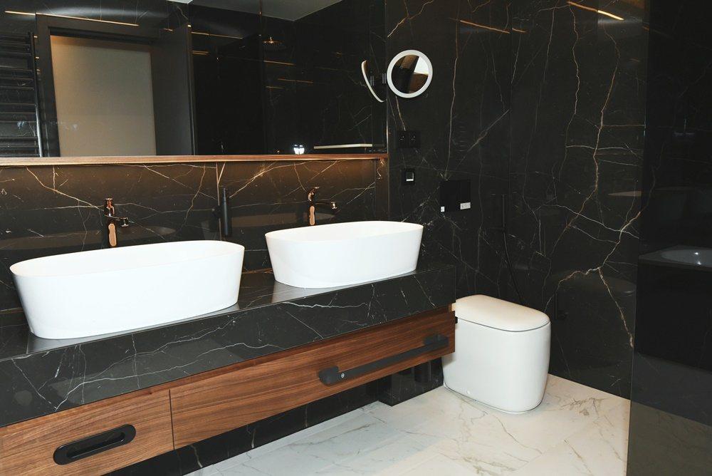 Koupelny v hotelu President 5