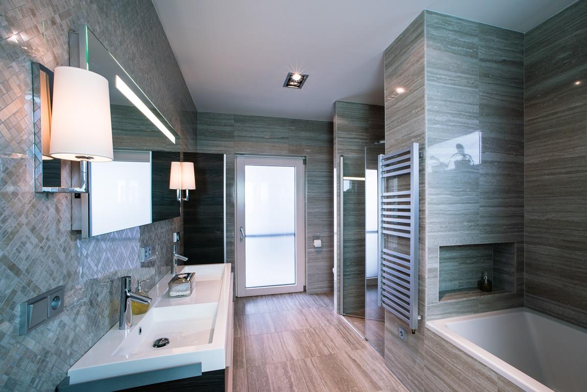 Luxusní koupelny v rodinném domě 2