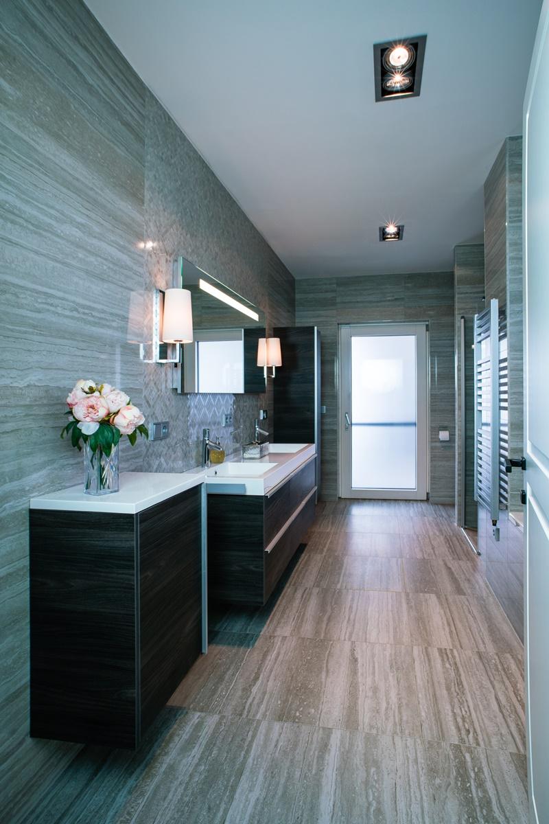 Luxusní koupelny v rodinném domě 9