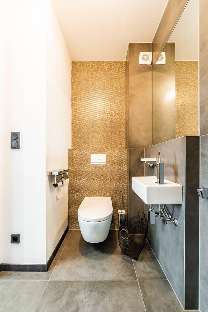 Luxusní koupelna propojená s ložnicí 17
