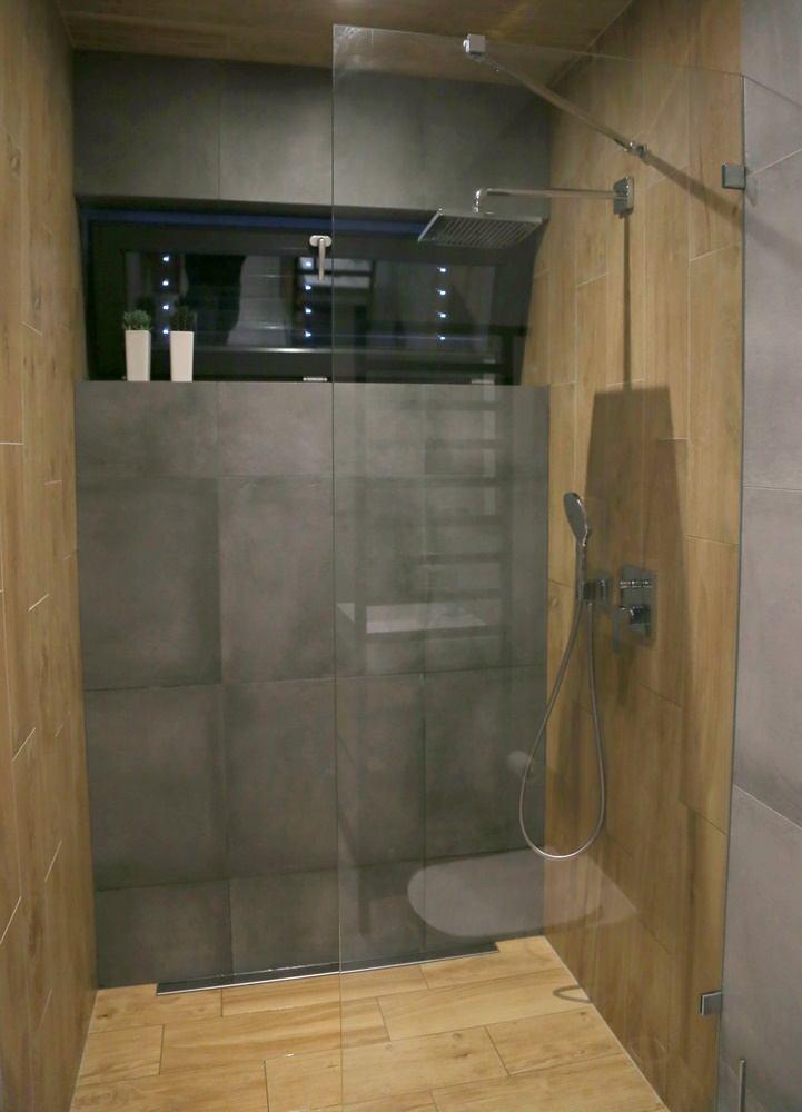 Malá koupelna se sprchovým koutem Walk-In 0