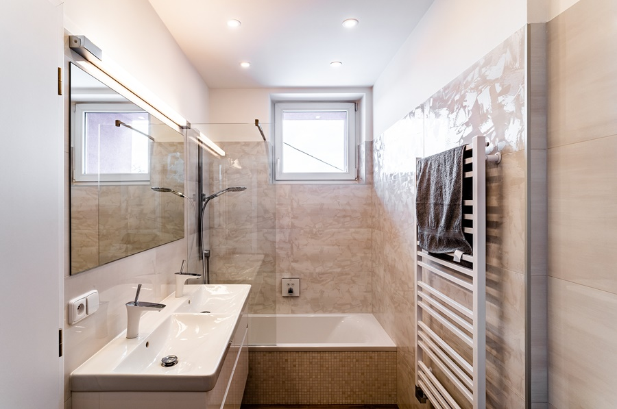 Malá koupelna v malém bytě 10