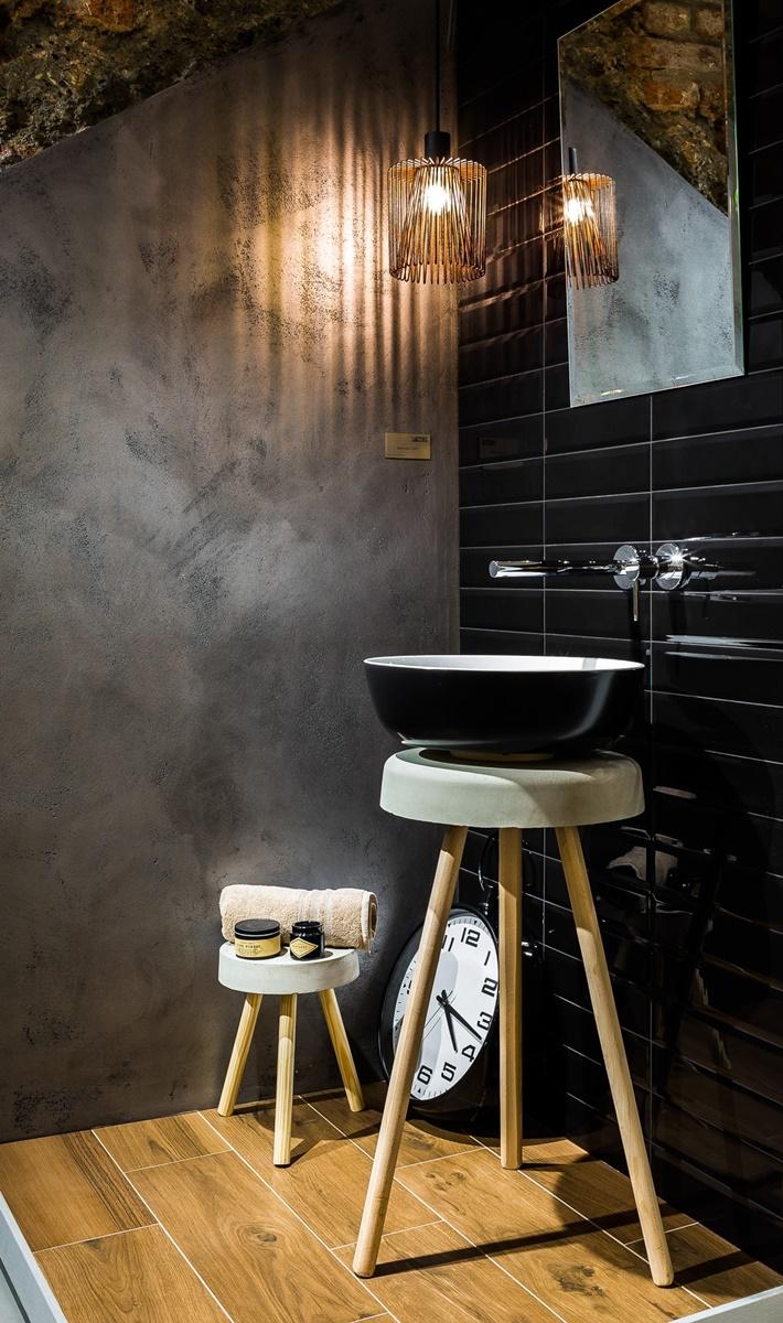 Designové umývátko na WC v minimalistickém stylu 2