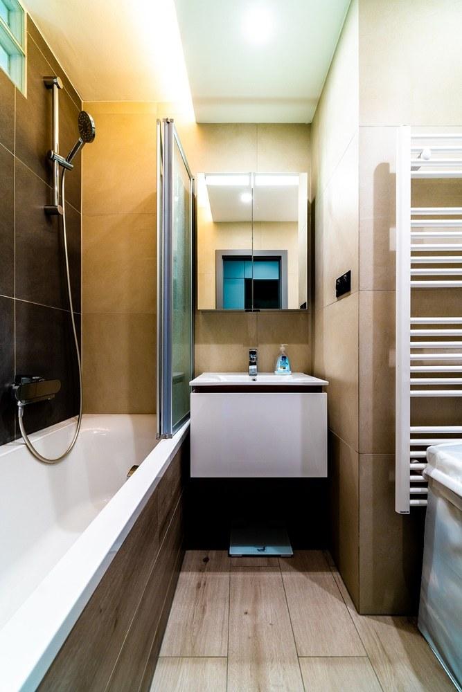 Rekonstrukce malé koupelny 2