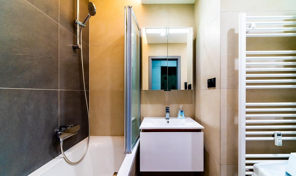 Rekonstrukce malé koupelny 3