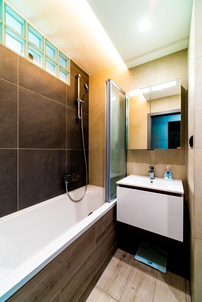 Rekonstrukce malé koupelny 4