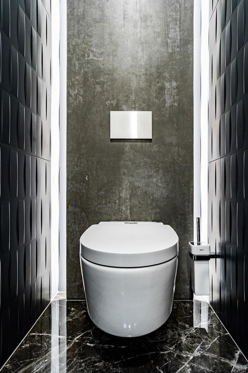 Luxusní toalety a sprcha ve VIP kancelářích 10