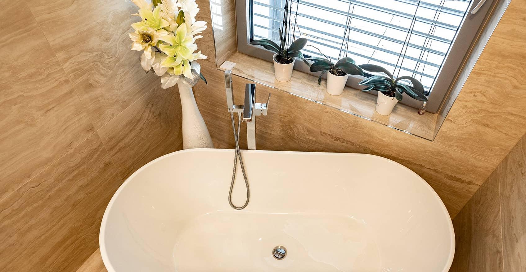 Mramorová koupelna 2