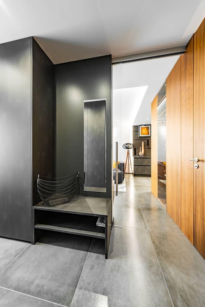 Luxusní koupelna propojená s ložnicí 23