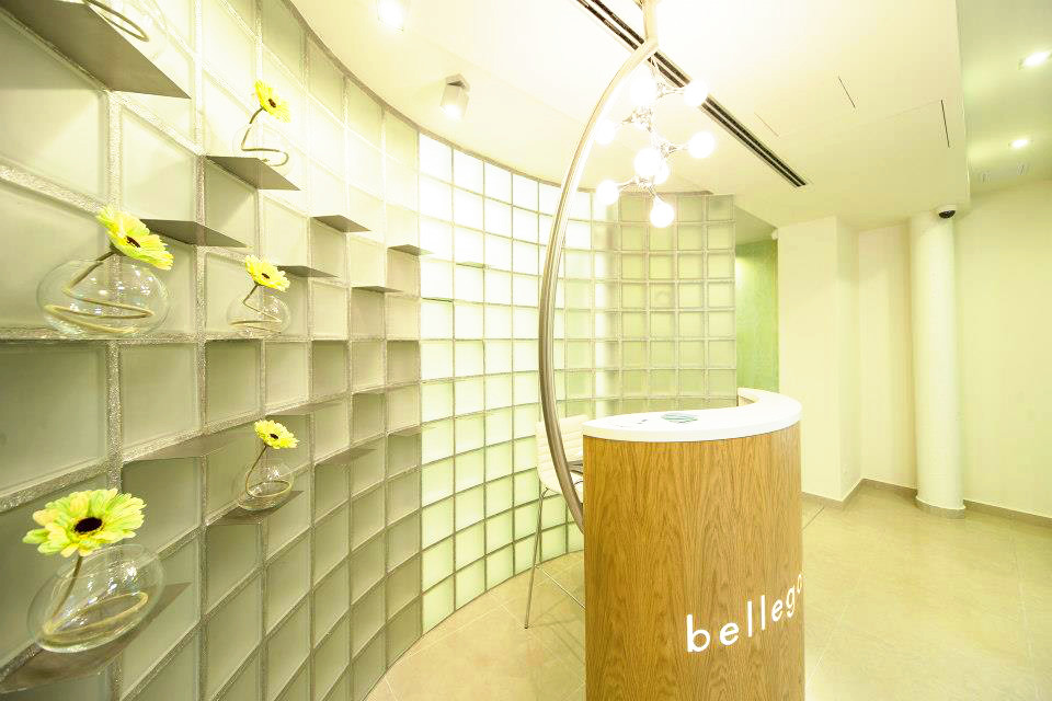 Luxfery v kosmetickém salónu Bellegante 1
